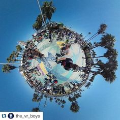 An awesome Virtual Reality pic! Experience CicLAvia Culver City meets Venice on the VR Boys YouTube channel (link in bio) Had a great time. On mobile use YouTube app on computer use chrome browser. Hope everyone likes the video. Please like & subscribe. #ciclavia #culvercity #venicebeach #vr #virtualreality #googlecardboard #oculus #photosphere #thetam15 by hollywooddro check us out: http://bit.ly/1KyLetq
