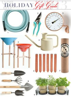 Get Your Hands Dirty: Gifts for the Garden Lover — Holiday Gift Guide from Apartment Therapy