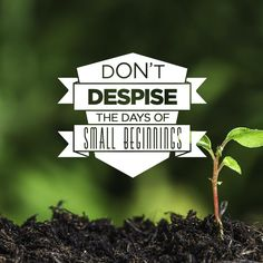 Don't Despise The Days Of Small Beginnings (17 Aug 2014), MP3, English
