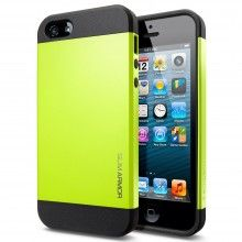 Funda iPhone 5 Spigen SGP Slim Armor Color Series - Lime  AR$ 118,93