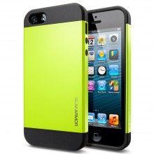 Forro iPhone 5 Spigen SGP Slim Armor Color Series - Lime  CO$ 54.459,36