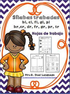 Spanish Blends Sílabas trabadas