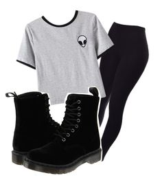 gkbfd by marleyquinn on Polyvore featuring polyvore fashion style Chicnova Fashion Dr. Martens clothing