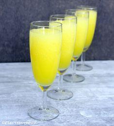 Rezepte mit Herz: Champagner - Orangen - Slush ♡ Aperitif RMH