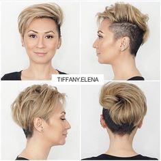 Who Thinks @tiffany.elena Should Go Full Buzz & Shave It All Off ??? #BuzzCutFeed #ShavedHead #BuzzCut #BuzzCuts #BuzzCutChallenge #GirlsWithBuzzCuts #GirlsWithShavedHeads