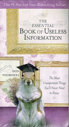 Essential Book of Useless Information 2009 Voorhees Paperback Sealed NY Times