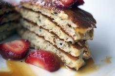 black truffle pancakes