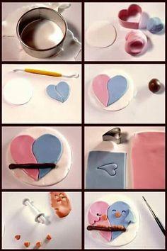 Pajaritos de corazón