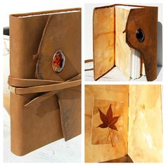 Custom Handmade Leather Travel Journal/Diary from NewSouthBooks, $215.00/NFS.  Hand delivered into the heart of Deep East Texas