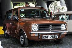 One classy classic Mini Clubman.