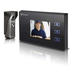 Buy the Swann Doorphone Video Intercom With Colour Lcd Monitor online from Takealot. Intercom, Lcd Monitor, Security Camera, Phone, Color, South Africa, Gadgets, Tech, Colour