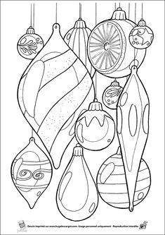 Leuk Voor Kids Kleurplaat Kerstballen Kerst Kleuters Pinterest