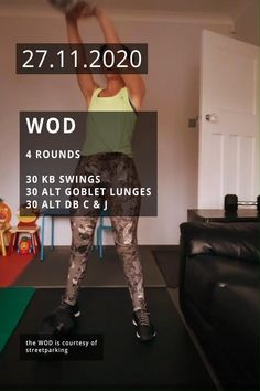 WORKOUT. A dumbbell and a kettlebell.