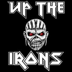 Best Rock Bands, Cool Bands, Iron Maiden Posters, Adrian Smith, Bruce Dickinson, Metal Albums, The Black Keys, Heavy Metal Bands, Rock N Roll