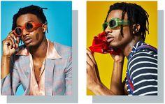 O rapper Playboi Carti na revista @gq vestindo #DVN98C15SUN #DVN137C4SUN Dries Van Noten x Linda Farrow SS17 #innovaoptical #lindafarrowgallery #driesvannotenss17 #sunglasses #oculosdesol #design #weselldesignforliving