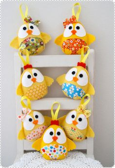 Plushka Handmade Softies, Easter Gifts, Chicks, Chickens