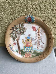 Sweet! Ceramic plate!