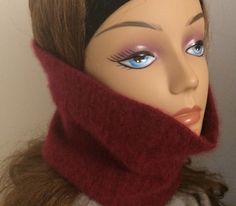 A personal favorite from my Etsy shop https://www.etsy.com/listing/255677949/super-thick-burgundy-cashmere-cowl-neck