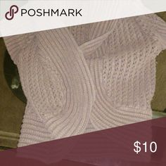 Half sweater Used great with a tank top Tops