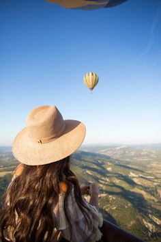 A Hot Air Balloon Ride.