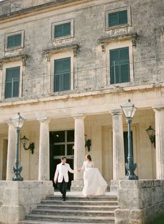 Romantic, Destination Greek Island Wedding