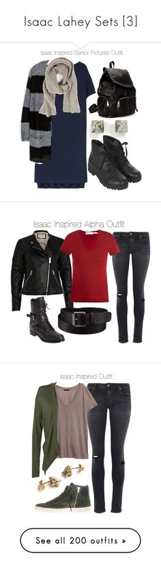 """Isaac Lahey Sets [3]"" by demiwitch-of-mischief ❤ liked on Polyvore featuring T By Alexander Wang, Zara, Zadig & Voltaire, Eddie Borgo, Topshop, Forever 21, River Island, Citizens of Humanity, Étoile Isabel Marant and Prada"