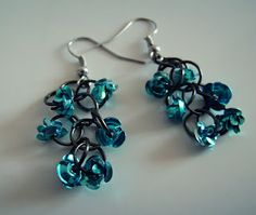 Rosie Blue earrings