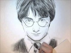 potter harry drawings drawing easy daniel radcliffe draw simple cool sketches hogwarts related paintings quotes acrylic