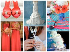 The Little Mermaid Wedding inspiration board.
