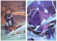 Mega Man Legends 2 Conceptual Art