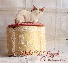 scatole biscotti - gatto scatole biscotti fatto da biscotti  cookie box made of cookie, theme - cat