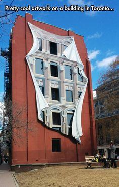 Gorgeous Building Canvas