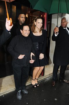 Mariah Carey Photos Photos - .Mariah Carey poses with a friend as she is spotted leaving the Plaza Athenee Hotel with her twins to go shopping in Alaya store in Paris, France after renewing her vows just last night to husband Nick Cannon. - Mariah Carey Leaves Her Paris Hotel