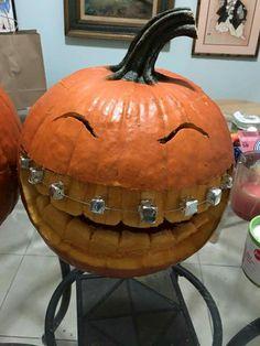 Braces Jack'o'lantern Halloween
