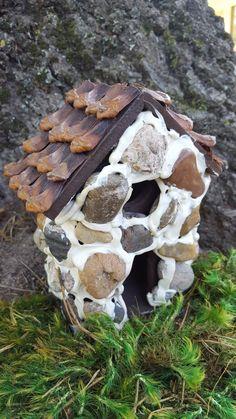 House, Fairy Garden House with Window