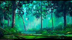 buka215 — Forest swamp Artwork for Episicava project…