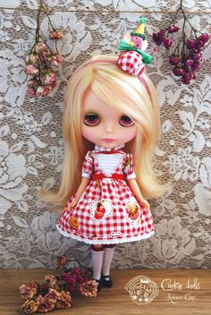 Miss gooseberry by Rebeca Cano ~ Cookie dolls