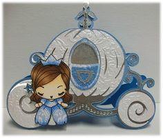 CInderella Carriage - cute for princess party invite