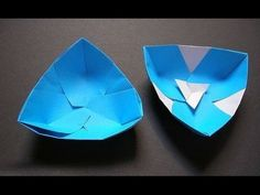 How To Make An Origami Paper Bowl – YouTube