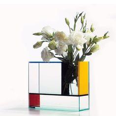 Jarrón Mondrian
