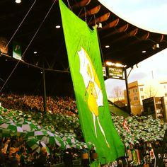 Let it rain, let it pour, let the Portland Timbers score. #rctid  - 2013 opening match tifo