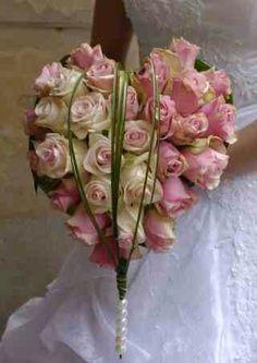 Heart Shaped Bridal Bouquet~