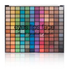 Studio 144-Piece Ultimate Eyeshadow Palette from e.l.f. Makeup and Cosmetics $15.00 Available in Bright (pictured) and Neutral.