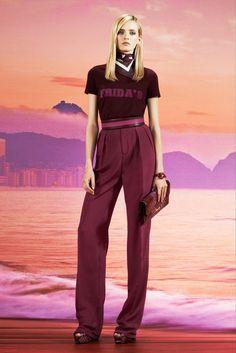 Gucci Resort 2014 Fashion Show - Daria Strokous