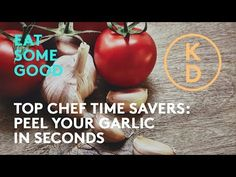 In this episode of Top Chef Time Savers, Executive Chef at The Drake Hotel, Ted Corrado, shows Kim D'Eon a trick to peeling a lot of garlic cloves at once. Time Saving, Saving Tips, How To Peel Garlic, Drake Hotel, Best Chef, Home Recipes, Ted, Wellness, Watch
