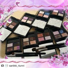 #Repost @sanikki_4unni with @repostapp  Hello @gayalasy  here they are lovely as promised #suqqu #18 #3 #10  #12 #16 #EX21 #EX25 #EX26 #suqqulover #suqqupalette #suqqueyeshadow #makeupmadness #makeupcrazy #instahub #instamood #color #brush #hakuhodo #special #brushlover #brushjunkie #makeupcollection  #makeupvanity #gorgeous #sweetmakeuptemptations