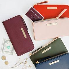 La Chance Passe Zip Up Wallet <3