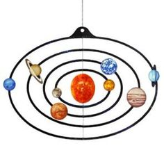 Free Mobile: Solar System,Science,Paper Craft,Educational,science,Mobile,sun,Planet,Universe,Moving,toy