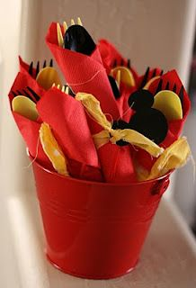 cute idea to have these together in a bucket. I will actually be doing this for AJ's party :)