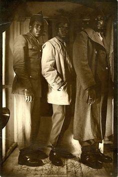Black American soldiers during World War II Nagasaki, Hiroshima, Fukushima, Vietnam, American Soldiers, American Flag, Native American, African Diaspora, African American History